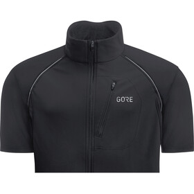 GORE WEAR C3 Windstopper Phantom Zip-Off Jacket Herre black/terra grey